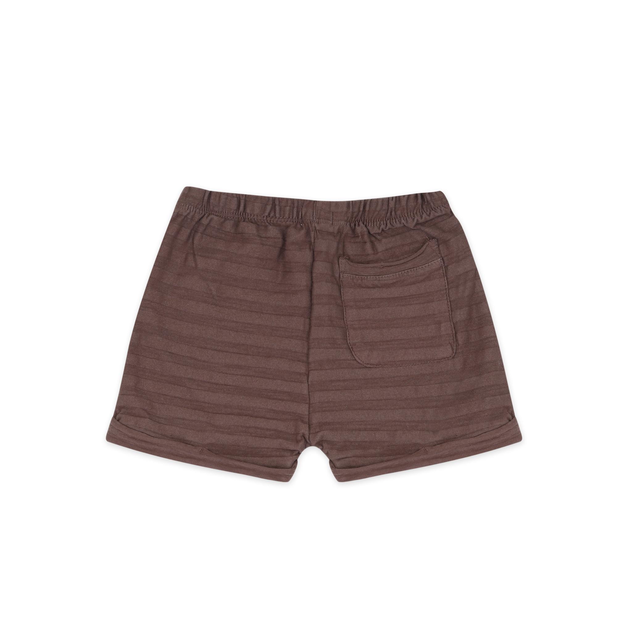 Summer shorts tonal stripe - heather-2
