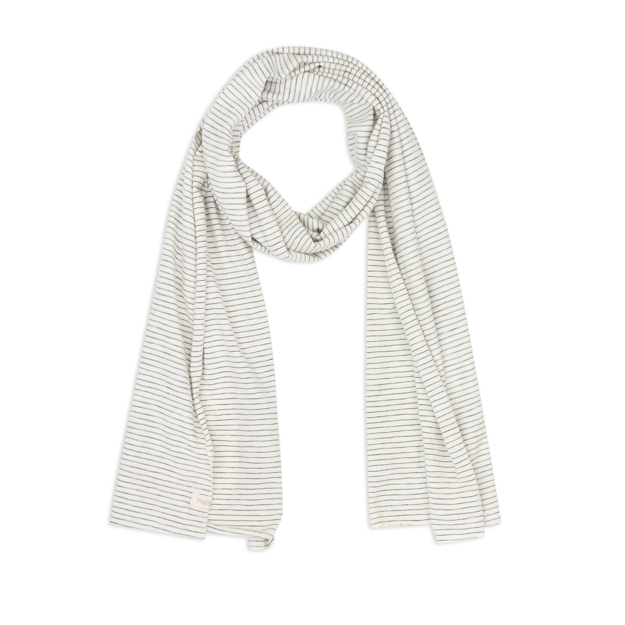 Scarf stripes - Vanilla stripe-1