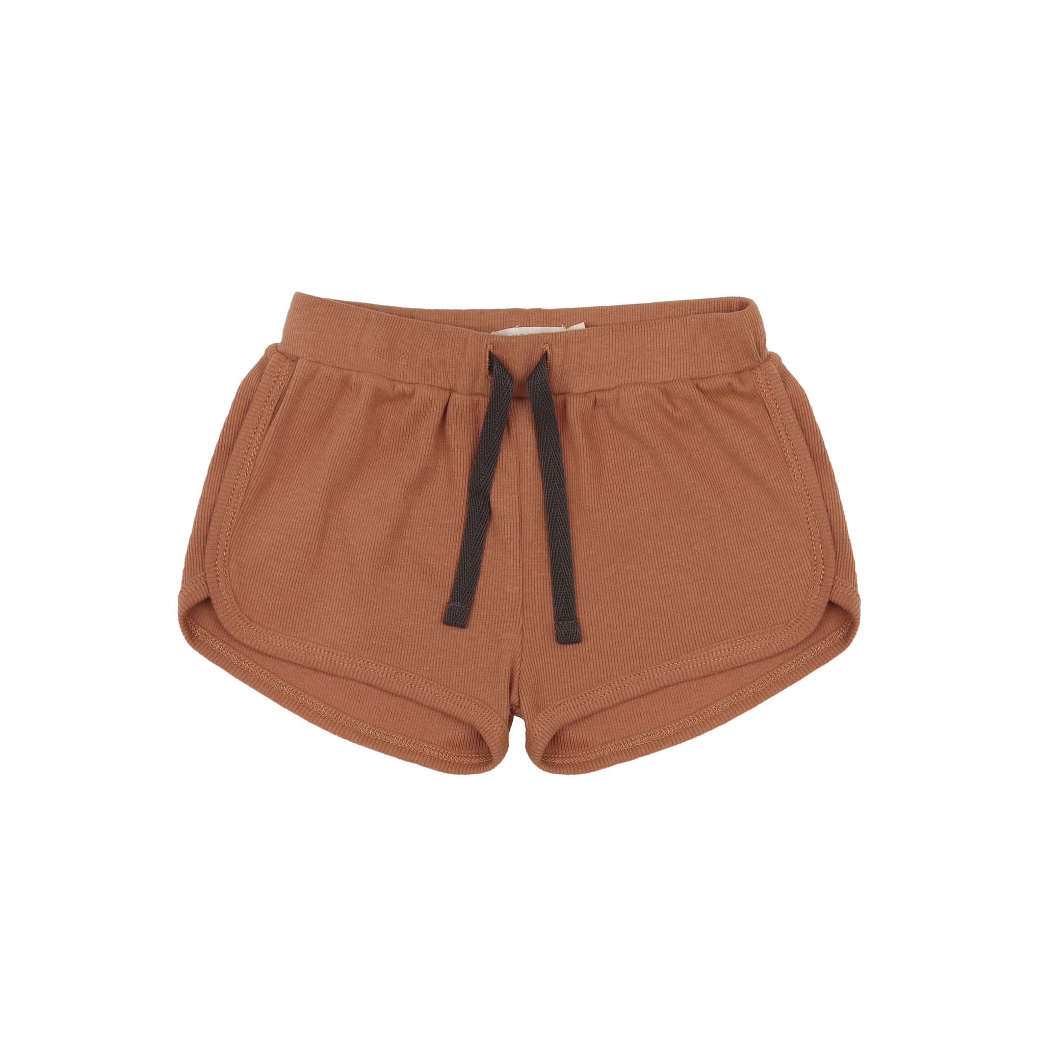 Rib shorts - terra-1