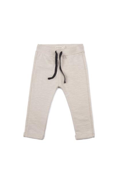 Baby sweat pants slub - Oatmeal