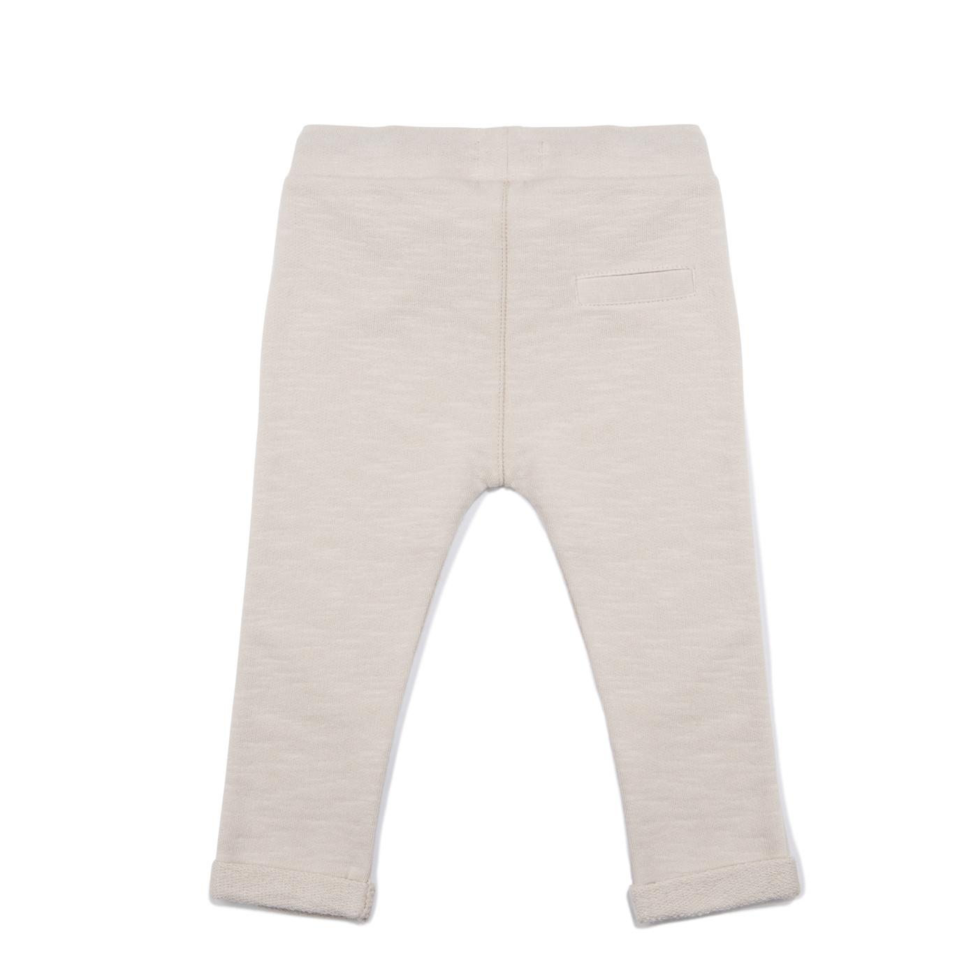 Baby sweat pants slub - Oatmeal-2