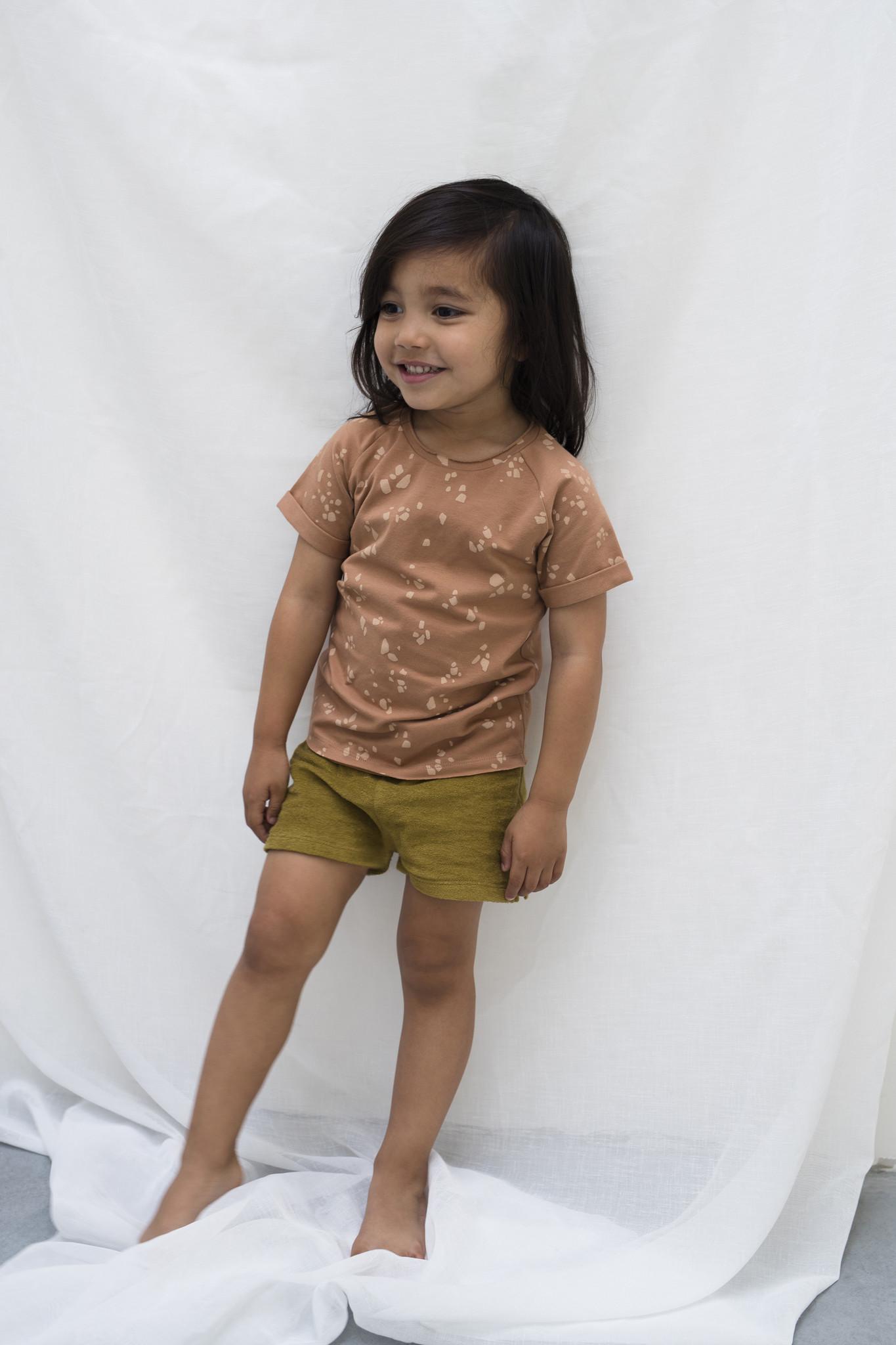 Frotté shorts - pear-3