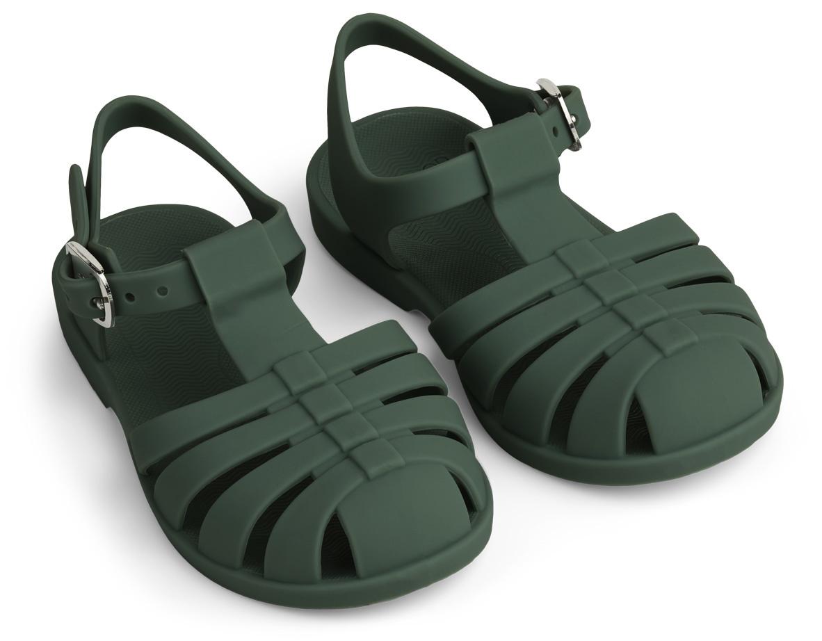Bre Sandals - Garden green-1