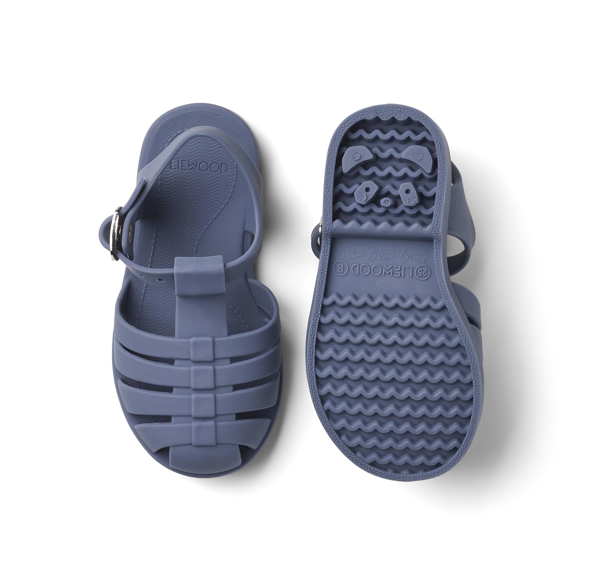 Bre Sandals - Blue wave-2