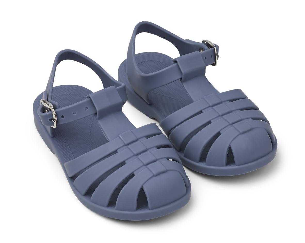 Bre Sandals - Blue wave-1