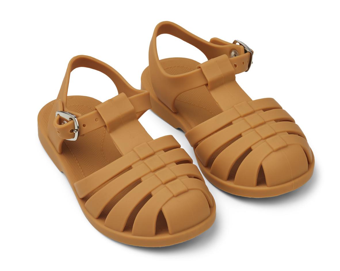 Bre Sandals - Mustard-1