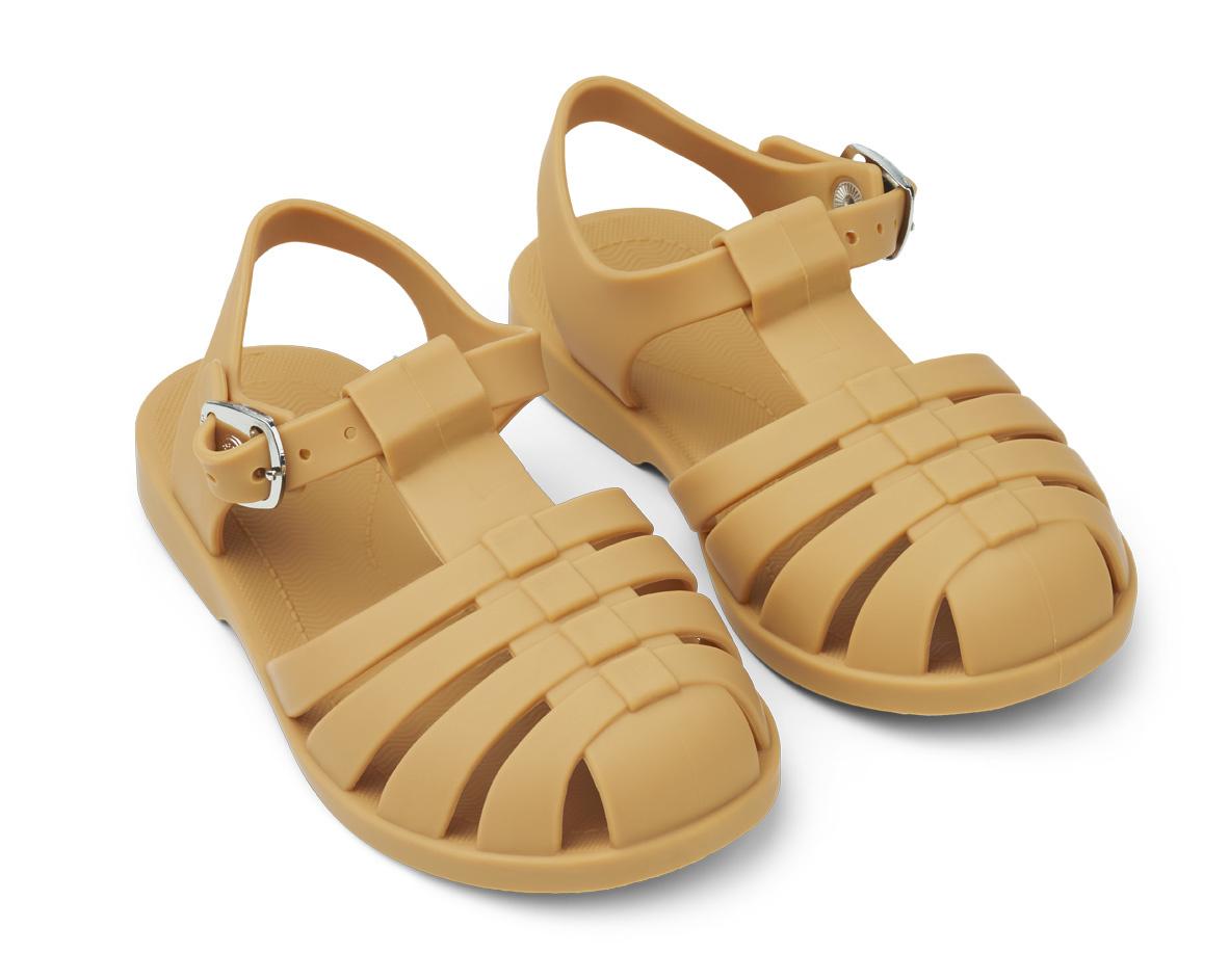 Bre Sandals - Yellow mellow-1