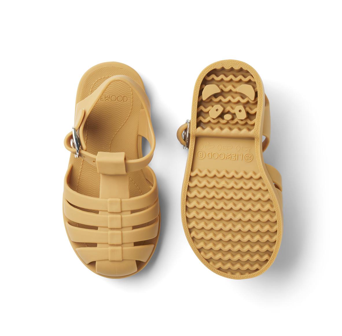 Bre Sandals - Yellow mellow-2