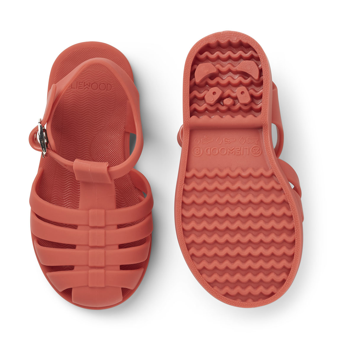 Bre Sandals - Apple red-2