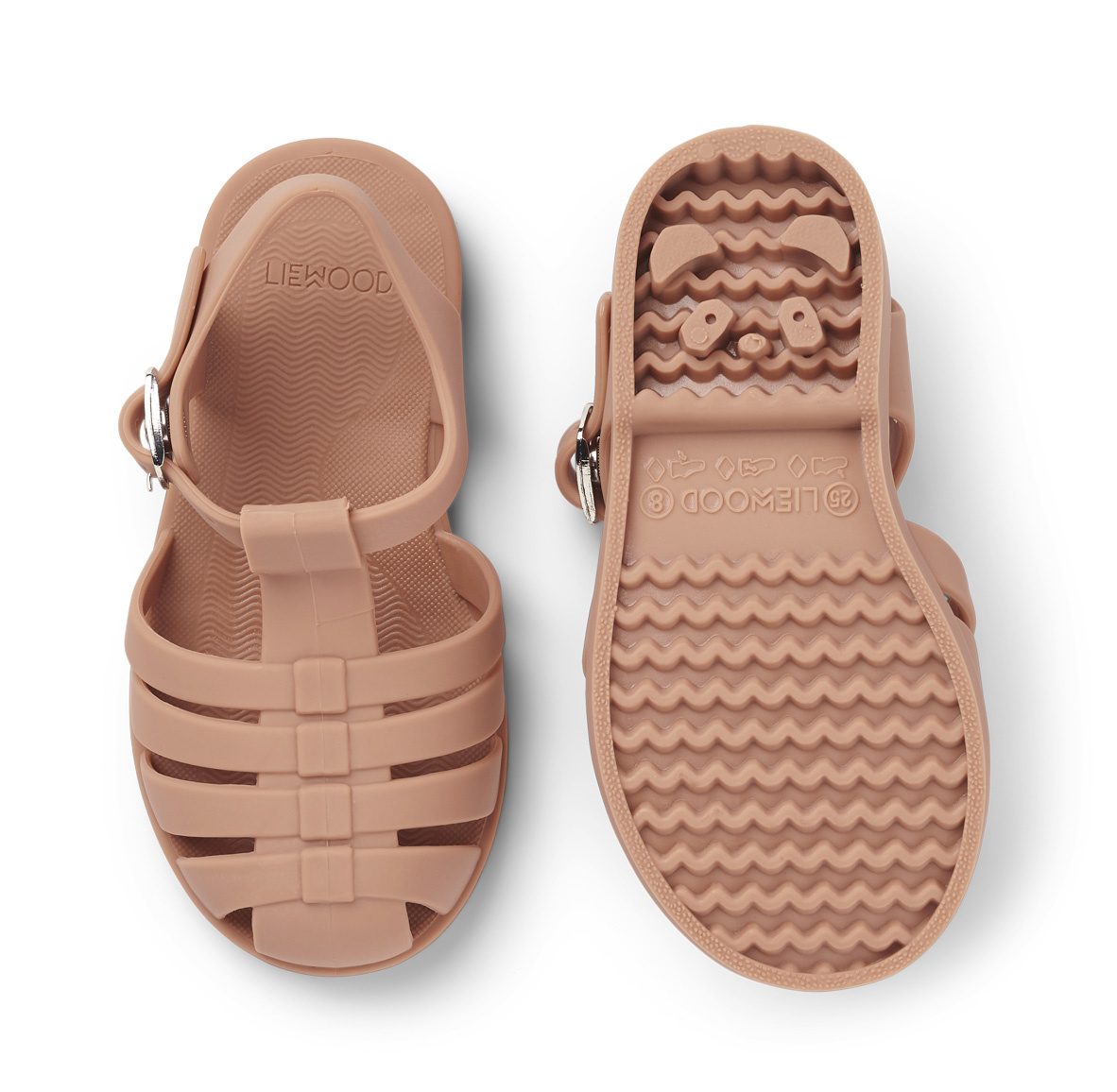 Bre Sandals - Tuscany rose-2