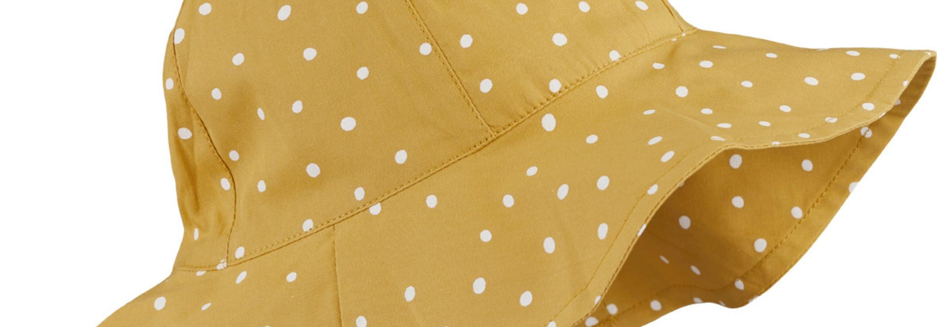 Amelia sun hat - Confetti yellow mellow mix