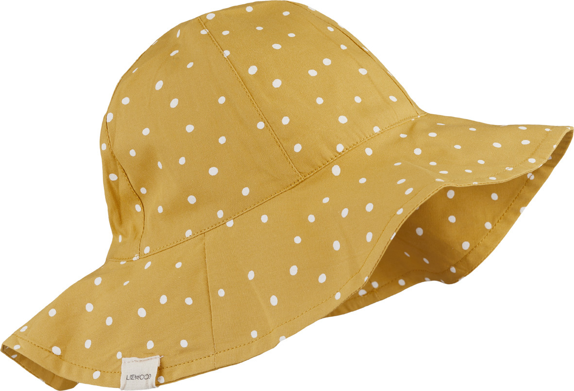 Amelia sun hat - Confetti yellow mellow mix-1