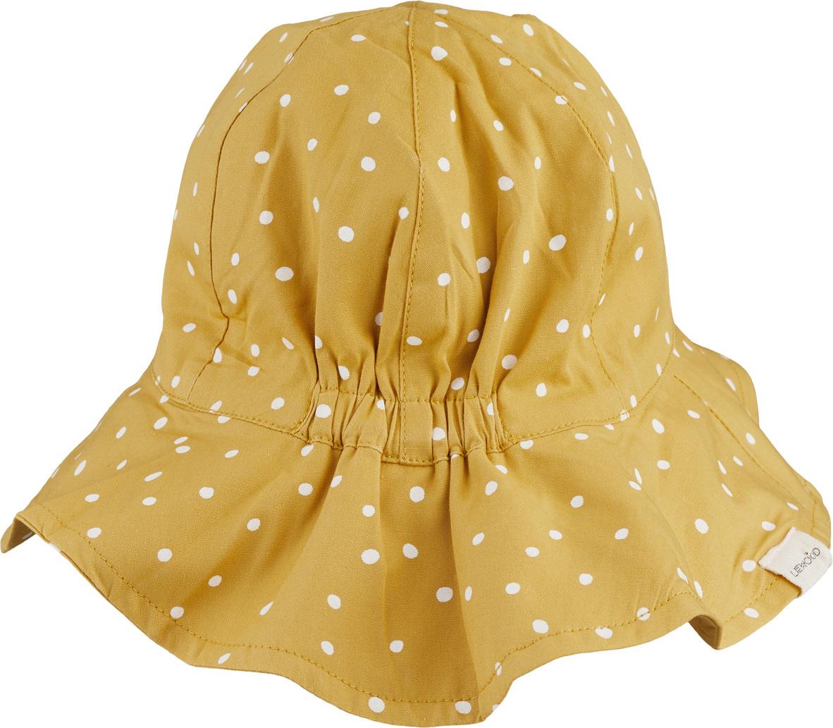 Amelia sun hat - Confetti yellow mellow mix-2
