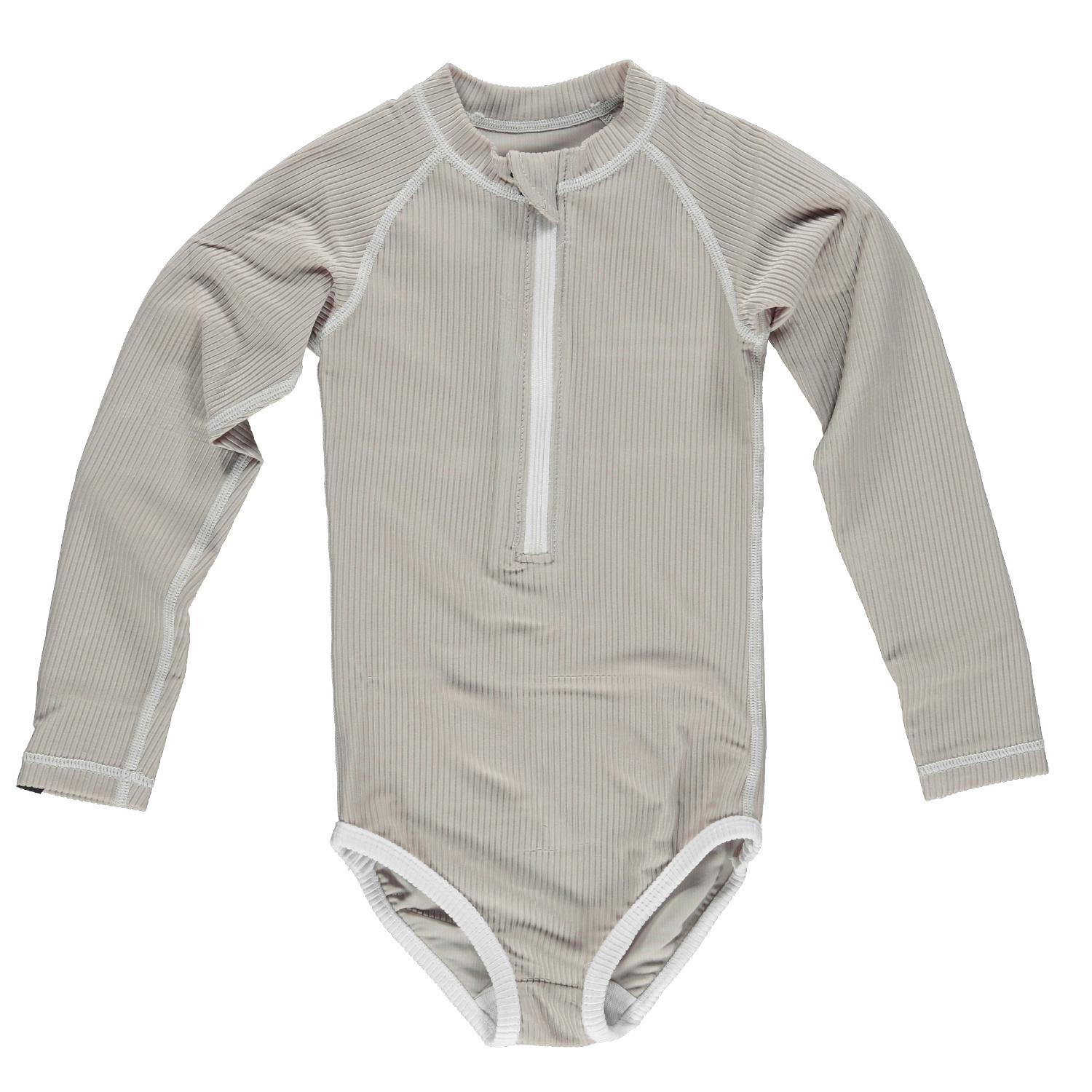 Sand Ribbed suit-1