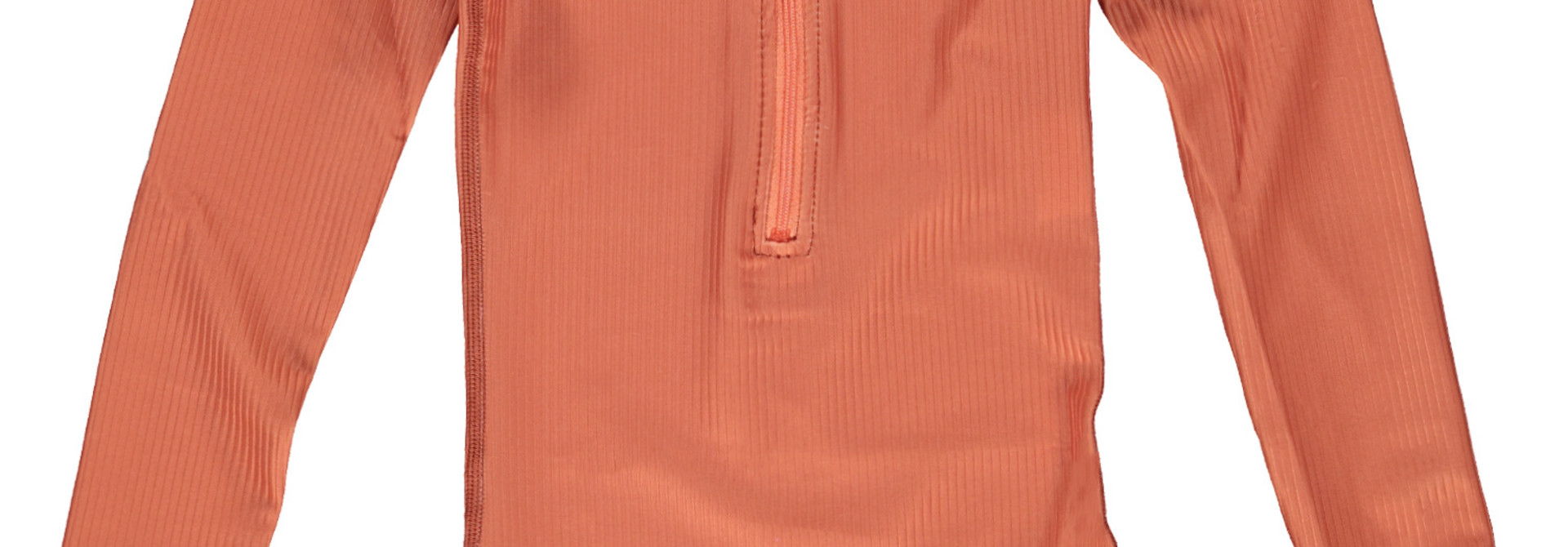 Clay Ribbed suit
