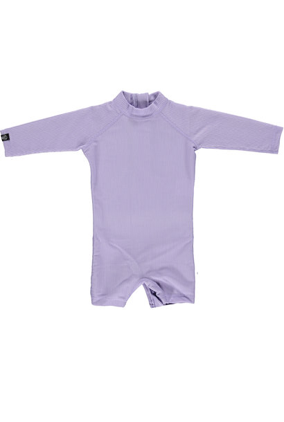 Lavender Ribbed Baby