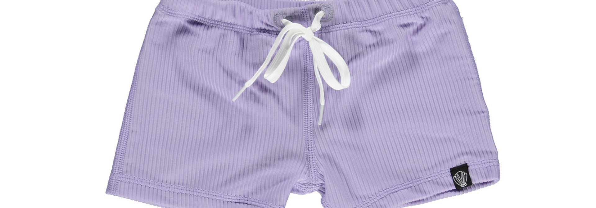 Lavender Ribbed  swimshort