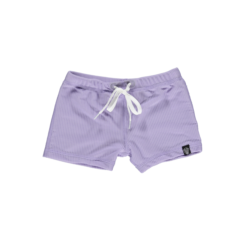Lavender Ribbed  swimshort-1