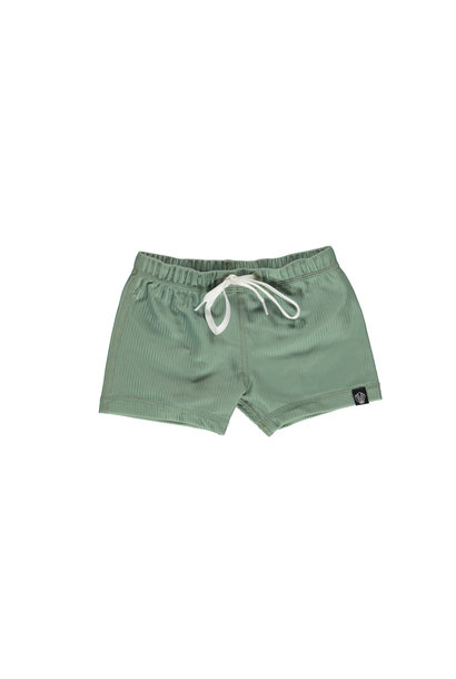 Basil Ribbed  swimshort