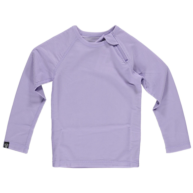 Lavender Ribbed LS Tee-1