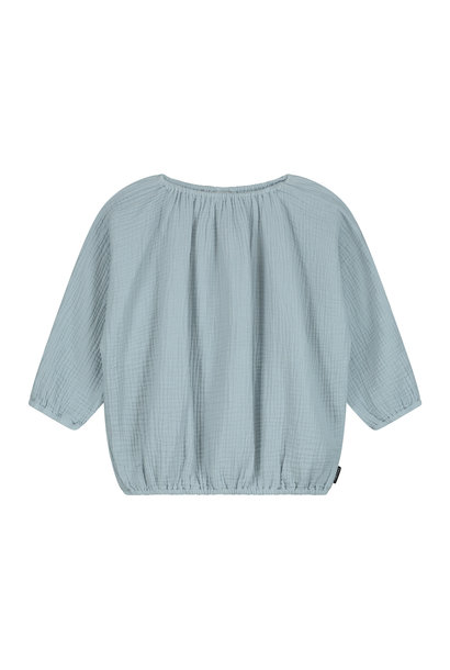 Lily top pearl blue