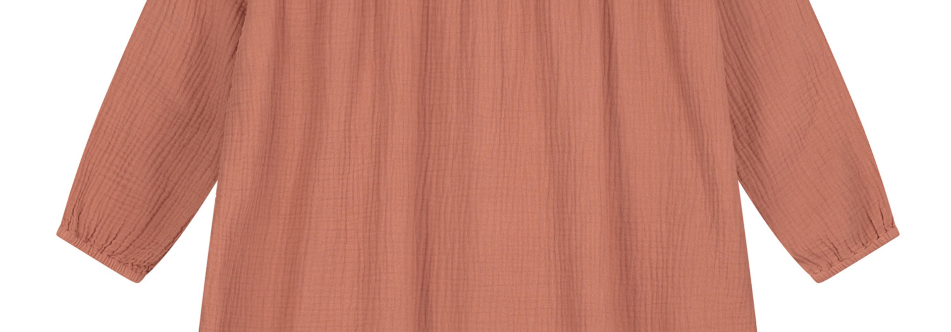 Lois ruffle dress summer cinnamon
