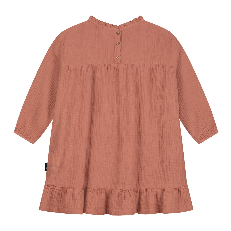 Lois ruffle dress summer cinnamon-2
