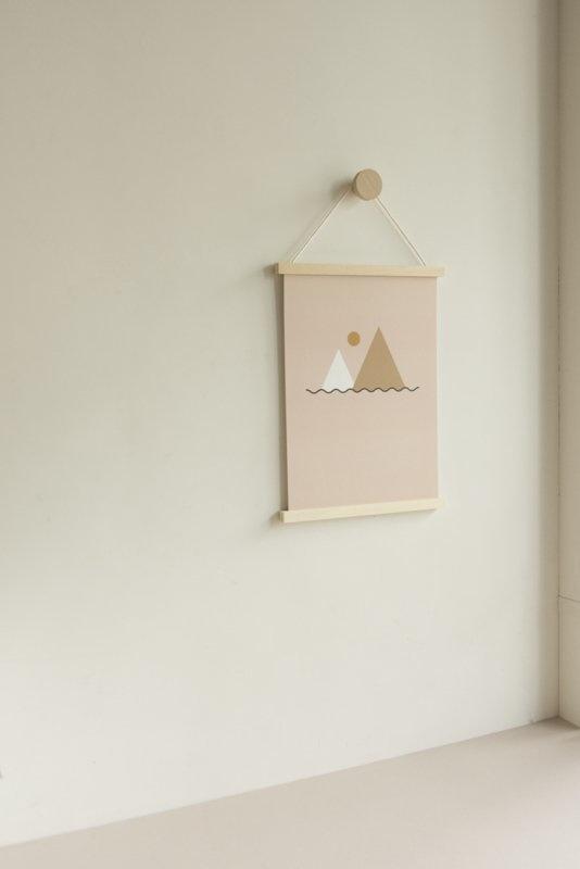 Wooden wall hanger-1