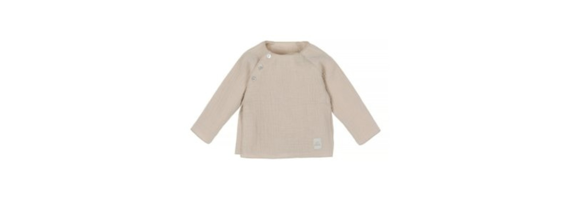 Baby mousseline top - naturel