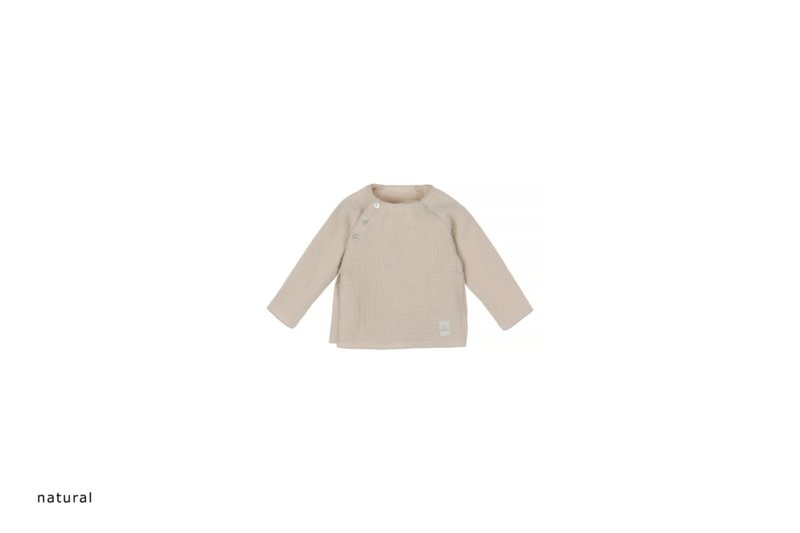 Baby mousseline top - naturel-1