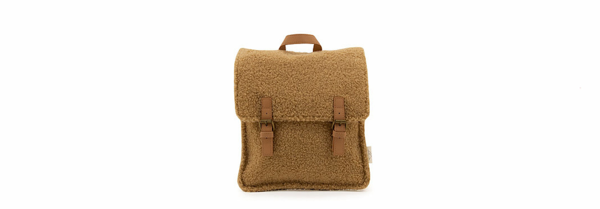 Teddy backpack - sand