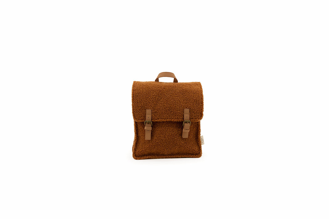 Teddy backpack - caramel-1