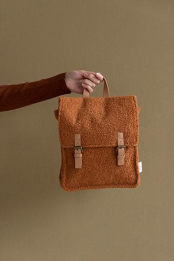 Teddy backpack - caramel-3