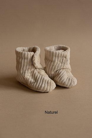 Newborn shoe - ribvelvet-3
