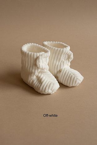 Newborn shoe - ribvelvet-1
