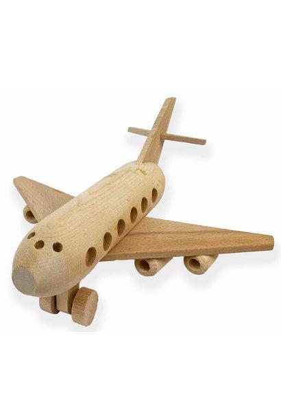 Houten vliegtuig Boeing