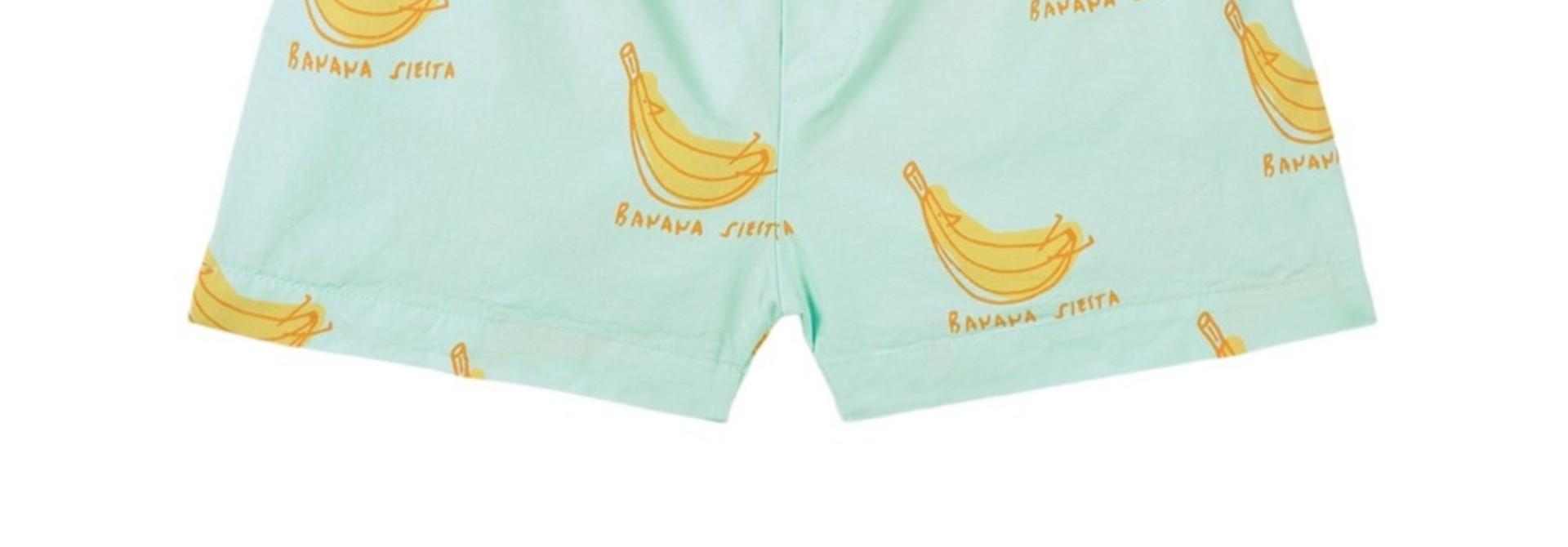 Short button banana siesta
