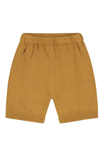 Mini summer knitted shorts