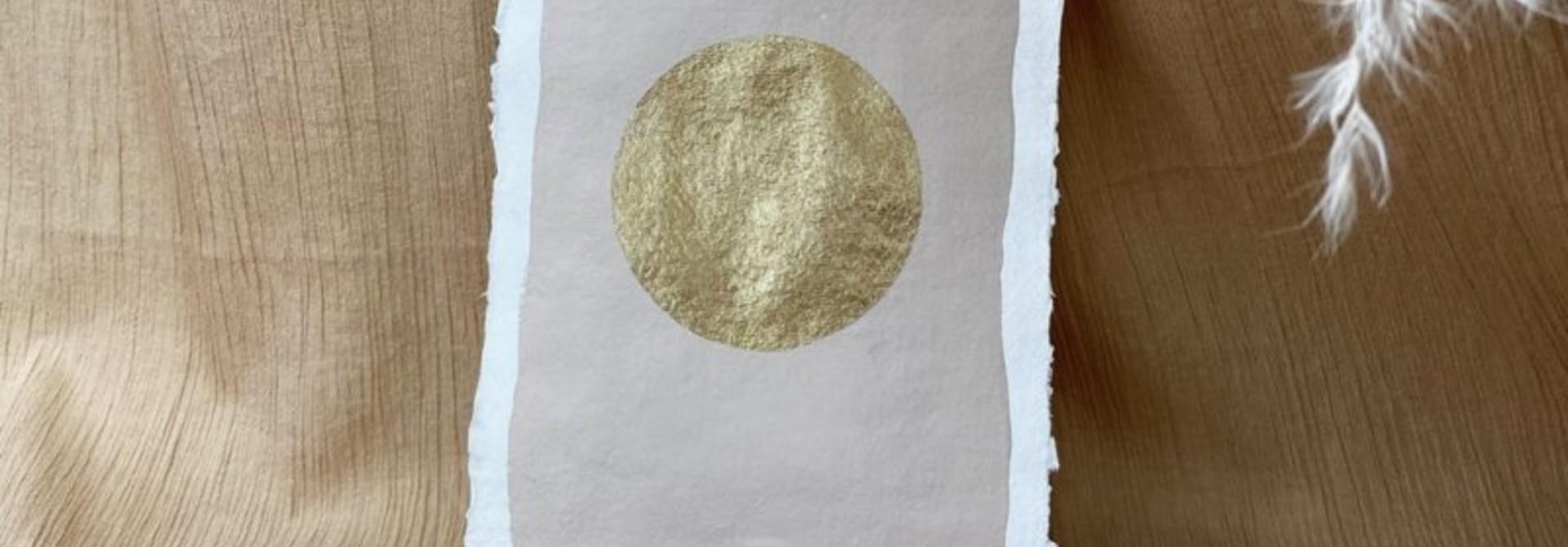 Art Full Moon - Warm Grey