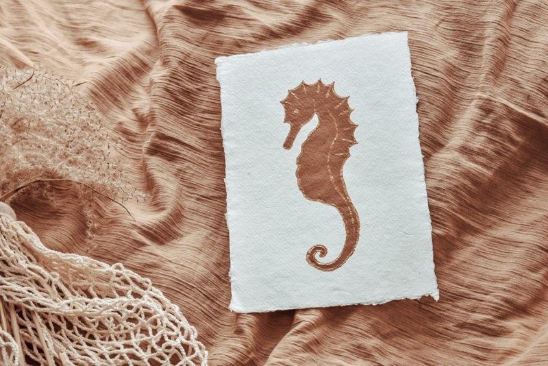Art Seahorse-1