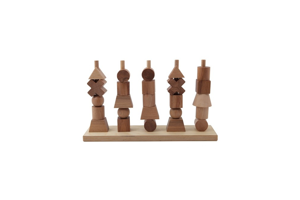 Natural Stacking toy-1