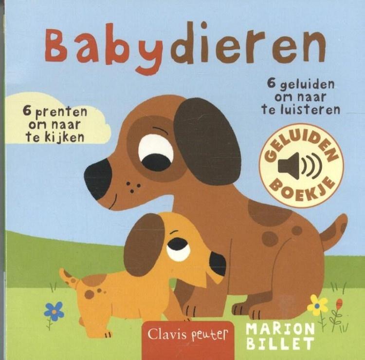 Geluidenboekje: Babydieren-1