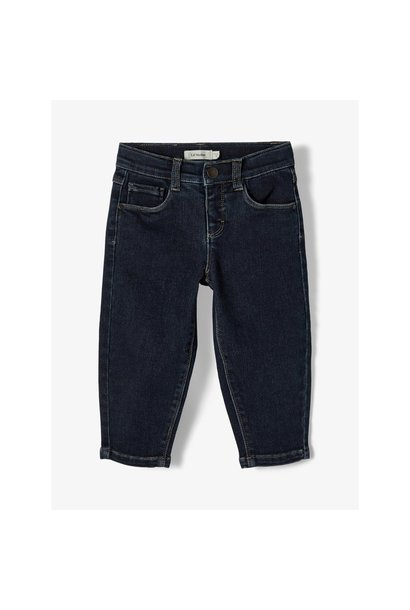 Bibi Ancle Pant - Dark Blue Denim
