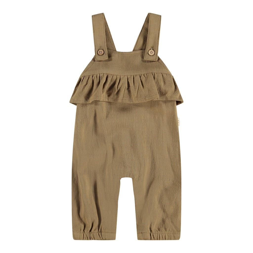 Edolie Loose Overall Pants - Ermine-1