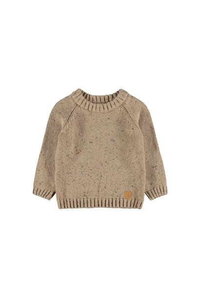 Egalto Longsleeve Knit - Tobacco Brown