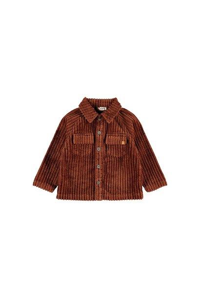 Ellory Loose Shirt - Tortoise Shell