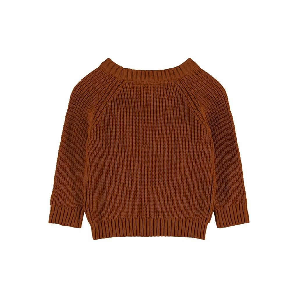 Imilio Longsleeve Knit - Apple Cinnamon-2