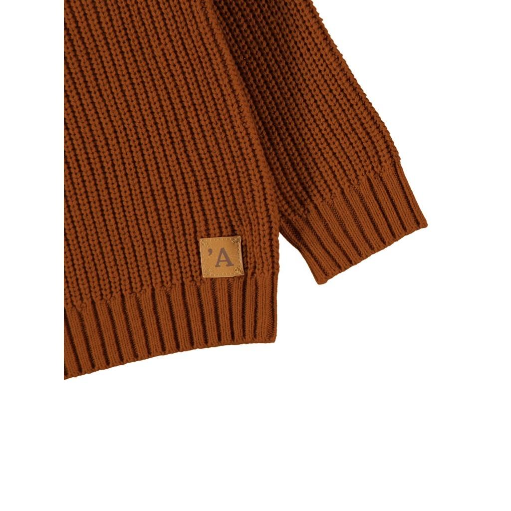 Imilio Longsleeve Knit - Apple Cinnamon-3