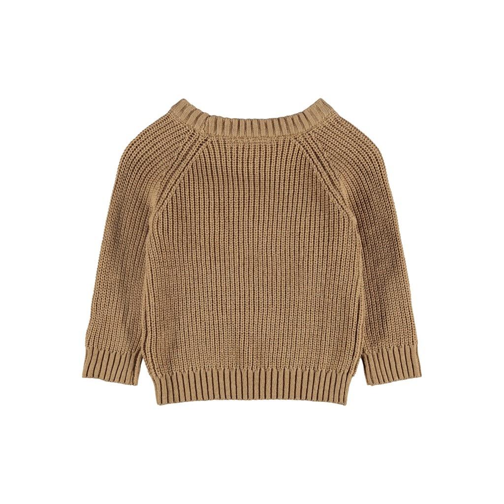 Imilio Longsleeve Knit - Glazed Ginger-2