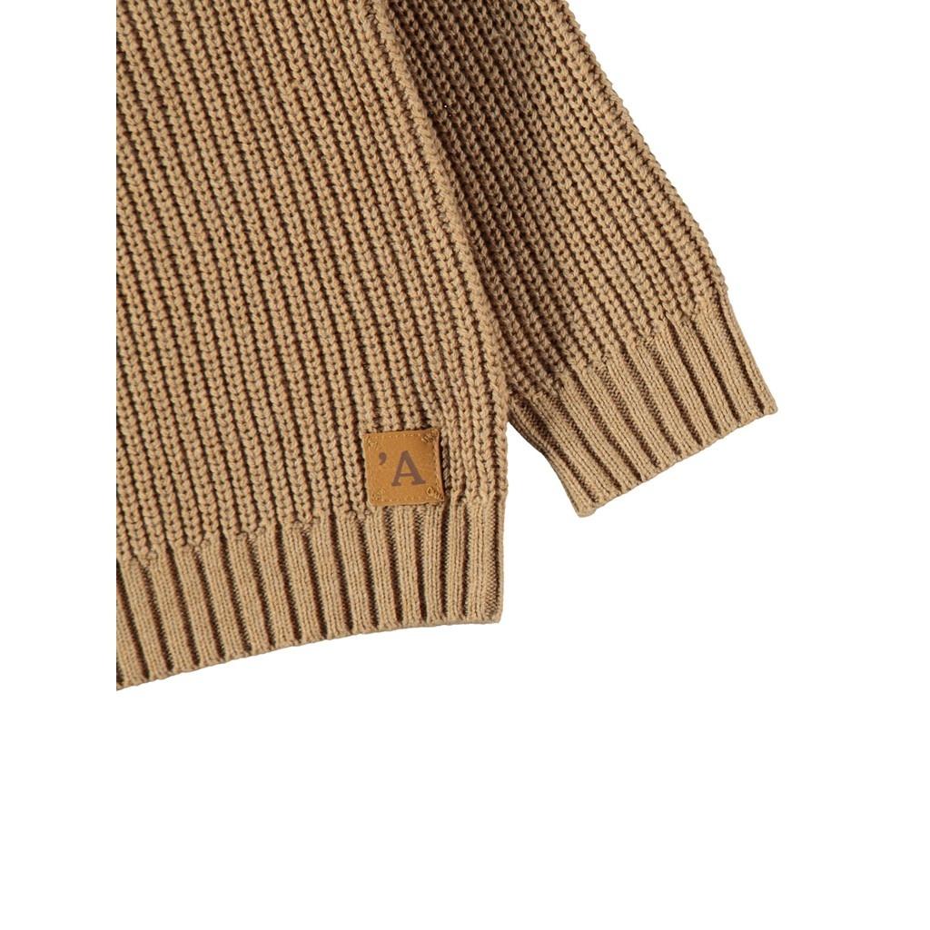 Imilio Longsleeve Knit - Glazed Ginger-3